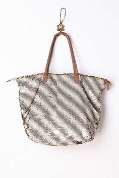 Anthropologie - Gilded Paillettes Tote