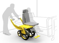 Sliding Wheelchair is ideal for people who are under special care and who find it difficult to move from their bed to the wheelchair. This wheelchair design features an adjustable height with a sliding seat that brings convenience to the chore of moving amid the chair and the bed. This design proves to be highly useful for the caregiver as well as the receiver of the care.