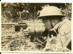 Chinese soldier from the late 1930s.