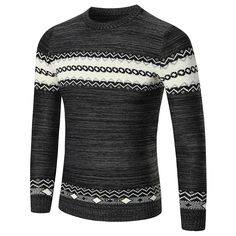 Type: Pullovers Material: Acrylic,Polyester Sleeve Length: Full Collar: Crew Neck Style: Casual Weight: 0.669 kg Package Contents: 1 x Sweater