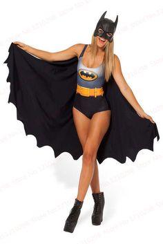 Batman Cape Suit from Black Milk Clothing. Shop more products from Black Milk Clothing on Wanelo. Black Milk Clothing, Batman Cape, Batman And Batgirl, Batman Suit, Best Swimsuits, Women Swimsuits, Geek Fashion, Superhero Fashion, Women's Swimwear