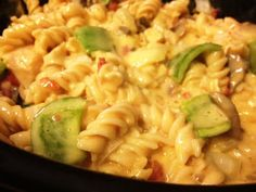 Tasty and (Mostly) Healthy Recipes: Cheesy Chicken Rotini in the Crock-Pot!