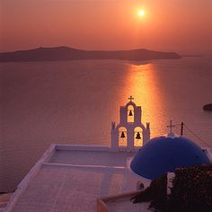 Sunset in Santorini Greece.  I will experience you one evening.......