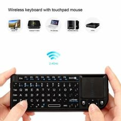 Rii Mini X1 2.4G Wireless Air Keyboard with Mouse Touchpad From 19,95 for Euro 14,45