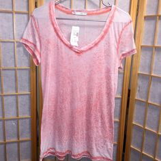 NWT Maurice's Pretty Everyday Shirt New With Tags! Maurice's Sheer Wear Everyday Short Sleeve Shirt in size Large. Maurices Tops Tees - Short Sleeve