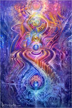 Stardust by Fabian Jimenez , Art Print - Fabian Jimenez, Threyda