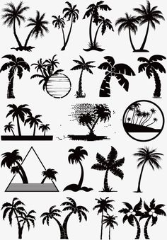 New Small Palm Tree Tattoo Ankle Tatoo Ideas Palm Tattoos, Nature Tattoos, Cute Tattoos, Body Art Tattoos, Tatoos, Mini Tattoos, Ephemeral Tattoo, Tropisches Tattoo, Tattoo Skin