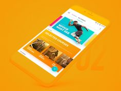 """via Muzli design inspiration. """"UI Interactions of the week is published by Muzli in Muzli - Design Inspiration. Web Design, App Ui Design, User Interface Design, Motion App, Ui Animation, Mobile Ui Design, Mobile App Ui, User Experience Design, Fitness Design"""