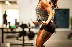 Fit tattooed ladies are the best~<3