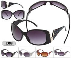 -Inspired byLouis Vuitton 5388 Sunglasses  - ReplicaLouis Vuitton Designer Sunglasses  - Dark Black Lenses & Polycarbonate Frames