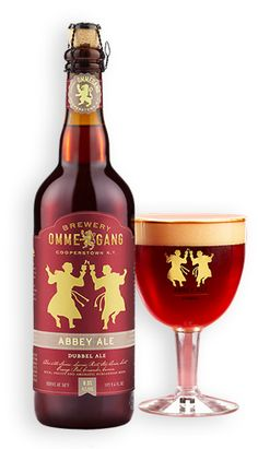 Ommegang is out of Cooperstown NY and there Abbey Ale offering is an absolute home run, if I may indulge in a pun.  Under the big foamy head is sweet, fruity, nicely carbonated and hinting of caramel Dubbel type beer.  Only the slightest metallicy earthy aftertaste remains and absolutely keeps you drinking.