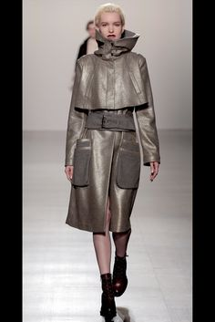Take a look to Francesca Liberatore Collections Fall Winter 2017-18collection: the fashion accessories and outfits seen on New York runaways.