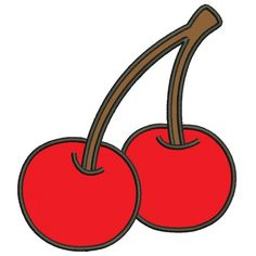 Cherry Applique Machine Embroidery Design Digitized Pattern   #embroidery #machineembroidery #applique #digitized #needlework #sew #patterns #embroidery #machineembroidery #applique #digitized #needlework #sew #patterns  #cherry