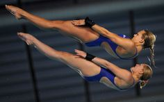 incredible    Tonia Couch and Sarah Barrow of Great Britain compete during the women's 10m platform synchro diving preliminary of the 31st LEN European Swimming Championships in Eindhoven, Netherlands