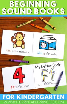 31 beginning sound books. There are 21 consonant and 10 vowel books. Separate short vowel and long vowel books are included.  These alphabet books feature a predictable text which will help developing readers feel successful. They are perfect to have students take home and share with their families.  The books are in black and white and students only need one page, so they are photocopier friendly!