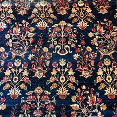 🌺 🌹🌸🌷🌺 (at Heirloom Rugs) Fabric Patterns, Flower Patterns, Print Patterns, Pattern Painting, Floral Ribbon, Indian Prints, Lawn Suits, Kilims, Block Prints