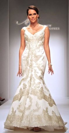 "The Elizabeth Gown - Matthew Christopher ""Devotion Collection"" - Wedding - Bride"