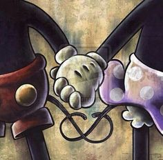 Walt Disney voiced the original Mickey. But did you know that the couple who voiced Mickey and Minnie after that, were married in real life? Disney Mickey Mouse, Mickey Mouse Kunst, Retro Disney, Mickey Mouse E Amigos, Mickey Mouse And Friends, Frozen Disney, Disney Magic, Disney Art, Disney Movies