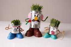 delia creates: Mr. Recycle Head Man