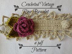 Vintage Rose Bracelet Pattern