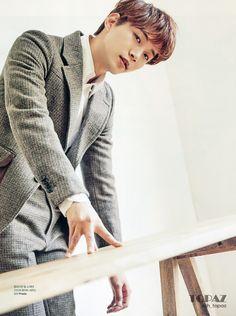 POPdramatic: Just Between Lovers' Sweethearts Junho and Won Jin Ah Pose for Elle Jay Park, Asian Actors, Korean Actors, Korean Dramas, Beautiful Voice, Beautiful Men, Beautiful People, Lee Junho, Lee Seung Gi