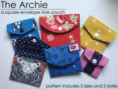 Free Sewing Pattern: The Archie – Square Envelope Pattern