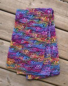 Ravelry: frazzledknitter's Drop Stitch Scarf