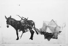 Doelbewus herhaal, gefaal by Kobus Rossouw South African Artists, Art Google, Moose Art, Black And White, Google Search, Animals, Art Ideas, Black White, Animales