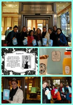 Shopping at Tiffany's for a Breakfast at Tiffany's party #tiffanys