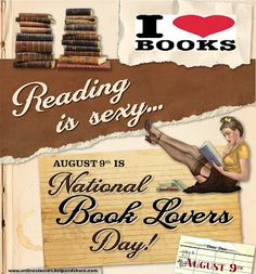National Book Lovers Day!
