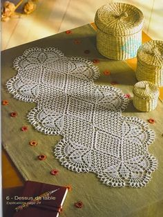 Crochet: tablecloth