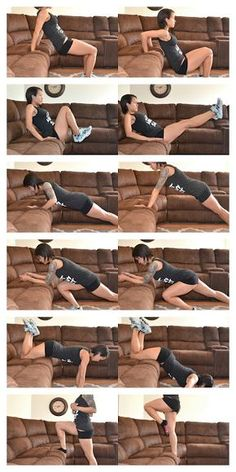 Full Body Workout for Beginners Video Collection Lazy Girl Couch Training Fitness Workouts, Sport Fitness, Easy Workouts, Yoga Fitness, Fitness Tips, At Home Workouts, Elliptical Workouts, Weight Workouts, Health Fitness