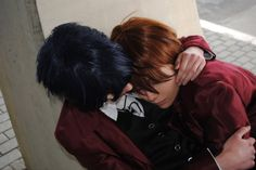 Fushimi Saruhiko x Yata Misaki - SaruMi cosplay by the-crimson-world.deviantart.com on @DeviantArt
