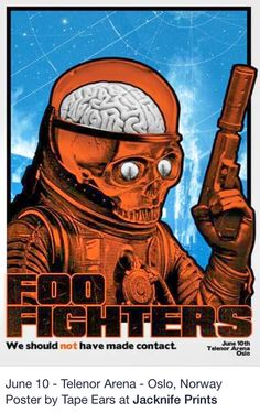 2015 Foo Fighters Posters