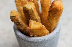 Bâtonnets de courgettes panés au parmesan - recette facile