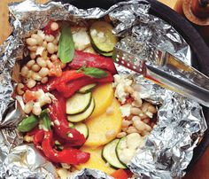 Easy Grilling Recipes: Packets!: Food & Diet: Self.com:In 20 minutes, you can create your own tasty packets using ingredients you have on hand.