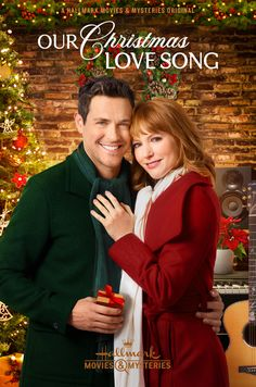 Its a Wonderful Movie - Your Guide to Family and Christmas Movies on TV: Our Christmas Love Song - a Hallmark Movies & Mysteries Miracles of Christmas Movie starring Alicia Witt & Brendan Hines! Family Christmas Movies, Hallmark Christmas Movies, Holiday Movies, Family Movies, Films Hallmark, Hallmark Channel, Lea Michele, Christmas Love Songs, Christmas 2014