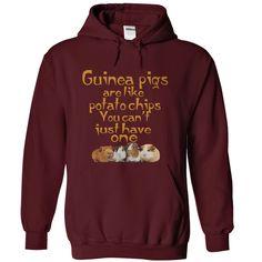 Guinea Pigs Are Like Potato Chips Shirts