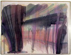 Veil paintings 1954 (Morris Louis, manga acrylic on canvas Morris Louis, Robert Motherwell, Jackson Pollock, Abstract Expressionism, Abstract Art, New York Exhibitions, Roy Lichtenstein, Anselm Kiefer, Gerhard Richter