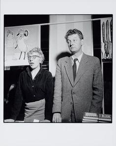 Annie MG Schmidt en Simon Carmiggelt 1952