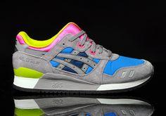 Asics-Gel-Lyte-III-Grau-Blau-Pink - HYPES ARE US   hypesRus.com