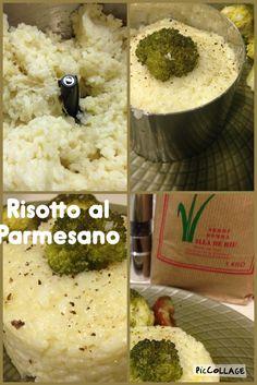 Risotto al Parmesano no tienes mas que entrar en #cocinacoencanto.com y podrás ver como realizarlo. Con el Robot #CuisineCompanion de @Moulinex_es