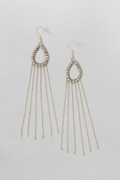 Bead And Hoop Earrings - Accessories - French Connection