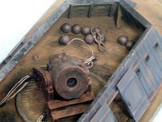 1/32 Scale Civil War Confederate Mortar Barge (Includes Mortar) by Flagship Models Inc. - Shop Online for Toys in NZ