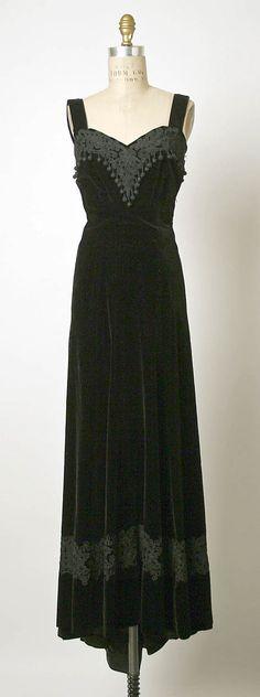 Elsa Schiaparelli Evening Dress
