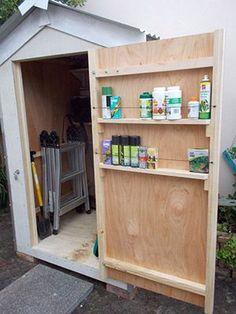 Image result for inside shed door tools