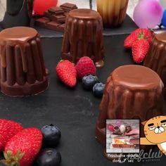 Easy Chocolate Desserts, Chocolate Recipes, Easy Desserts, Delicious Desserts, Yummy Food, Chocolate Videos, Chocolate Bomb, Fun Baking Recipes, Sweet Recipes