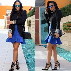 Beautiful Asos Blue skirt Size US6 Never worn. ASOS blue skirt. Never worn. Gorgeous fit  100% polyester. NO stretch ASOS Skirts Circle & Skater