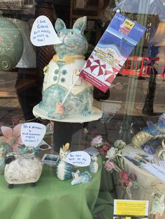 A Midsummer Dream inspired Swanage shop window