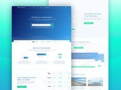 Australian Loan Comparison Start-up Homepage